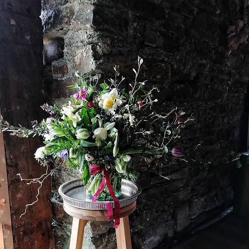 Seasonal Vase Of Flowers