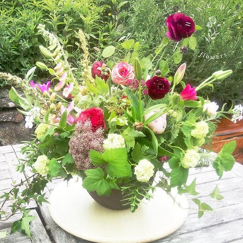 Arrangement In A Ceramic Bowl