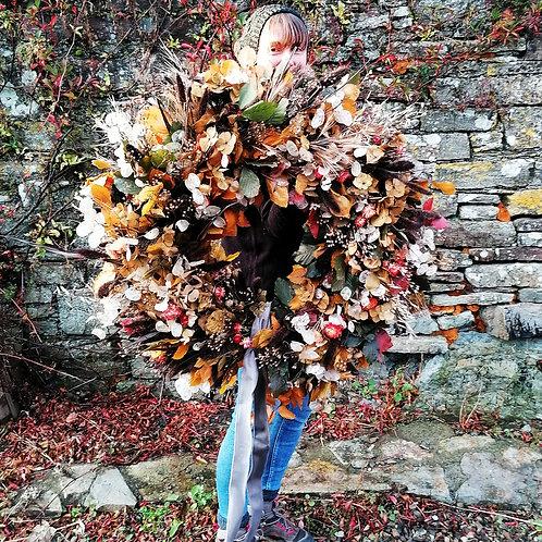 Giant Autumn Wreath