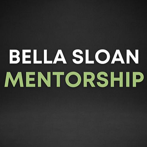 Bella Sloan Monthly Mentorship | June 2021