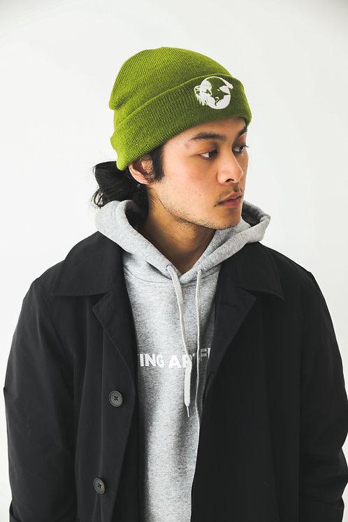 'Feel Good' / KHAKI GREEN Beanie