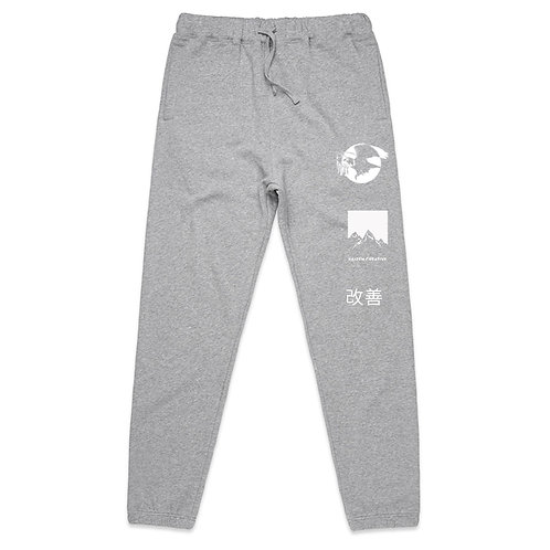 Kaizen Creative Track Pants (Grey)   Pre-Order Only