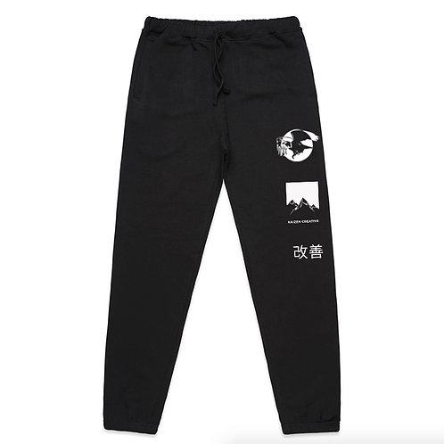 Kaizen Creative Track Pants (Black) | Pre-Order Only