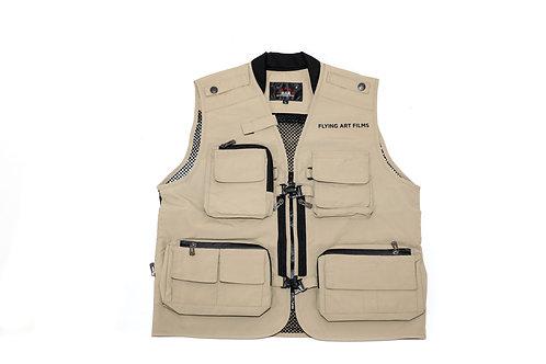 FA Tech Vest in Tan