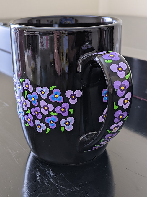 Violets & Violas Coffee Mug/Cup