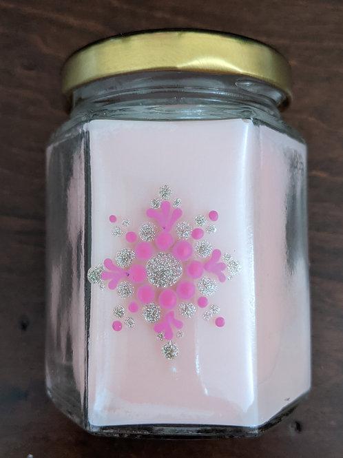 Pink Sugar Candle (mandala)