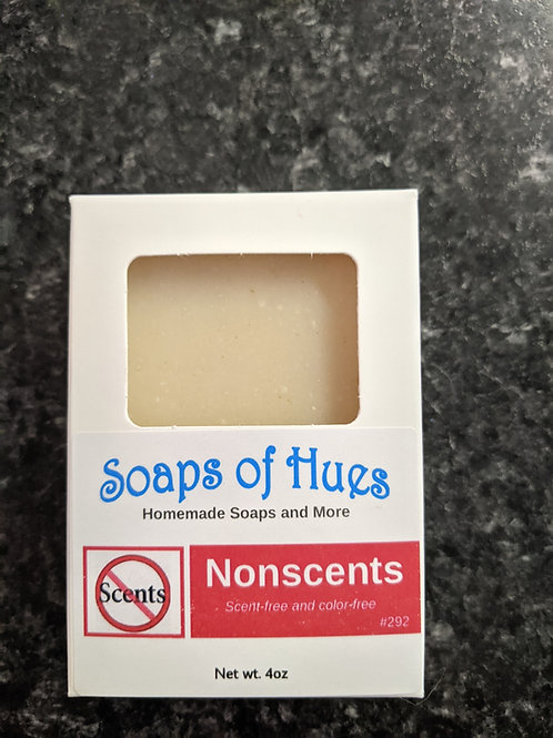 Nonscents (fragrance-free soap)