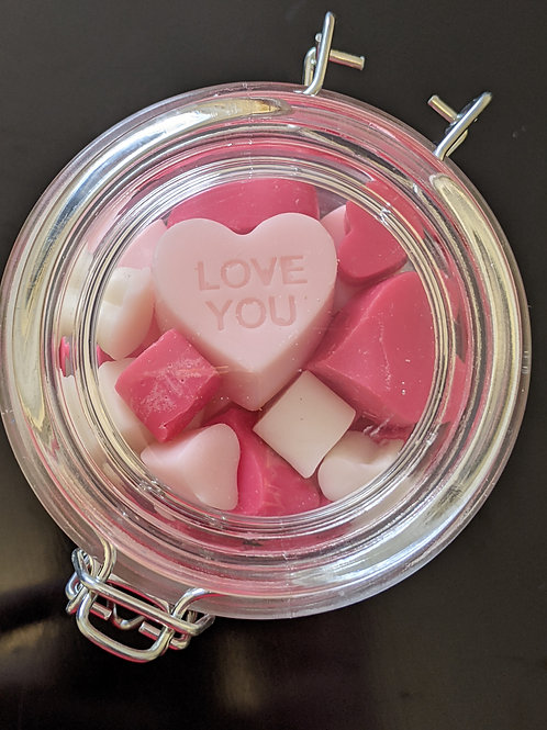 LOVE Wax Melts in container