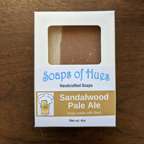 Sandalwood Pale Ale (Beer Soap)