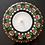 Thumbnail: Dotted Tea Light Holder (green, red, white)