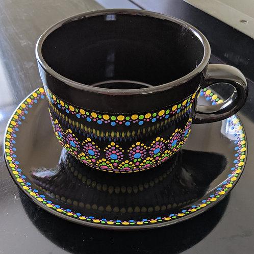 5 Colors Soup Mug & Plate