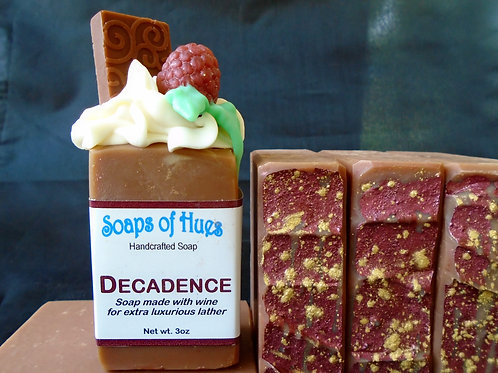 Decadence (Wine Soap)