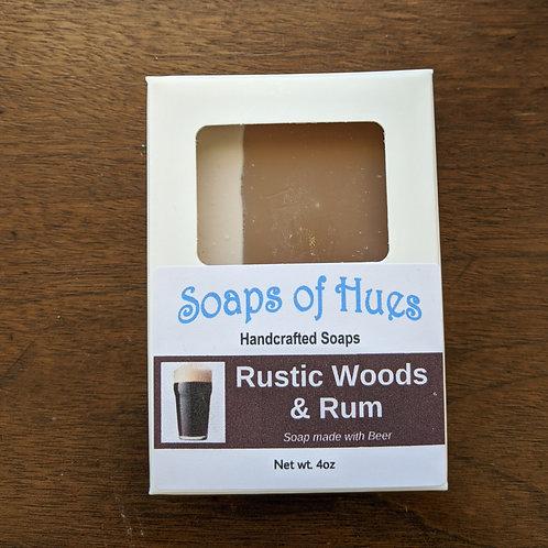 Rustic Woods & Rum (Beer Soap)