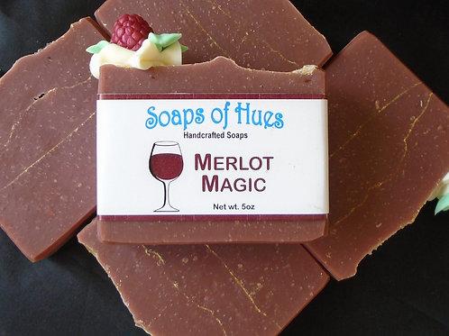 Merlot Magic (Wine Soap)