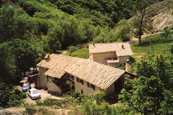 """le hameau de Villauret, gîte """"le Pounti"""""""