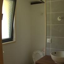 la salle d'eau du p'tit gite du hameau de Villauret