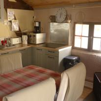 coin cuisine, la _Grange_ gîte le hameau