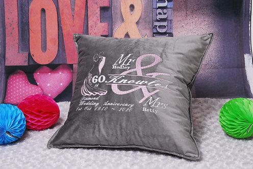 Wedding Anniversary Cushion