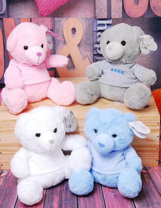 Personalised 25cm Teddy