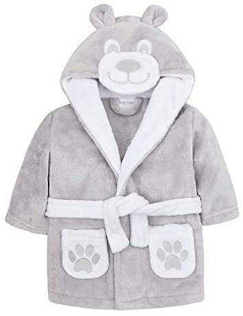 Teddy bear baby Dressing Gown personalised