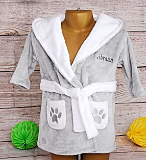 Babies dressing gown