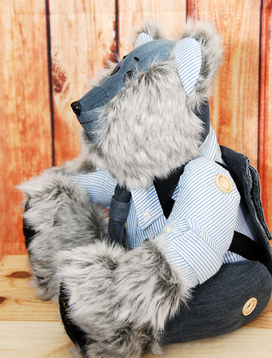 Standard Forget Me Not Memory Bear