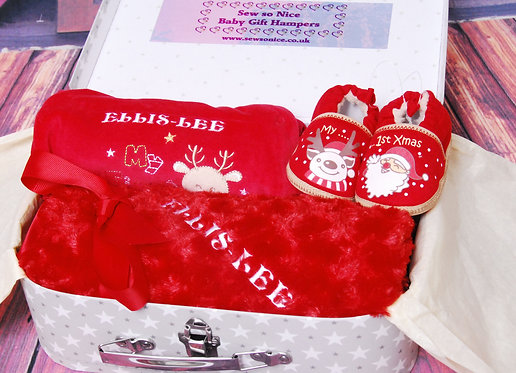 Babies First Christmas Gift Hamper From:
