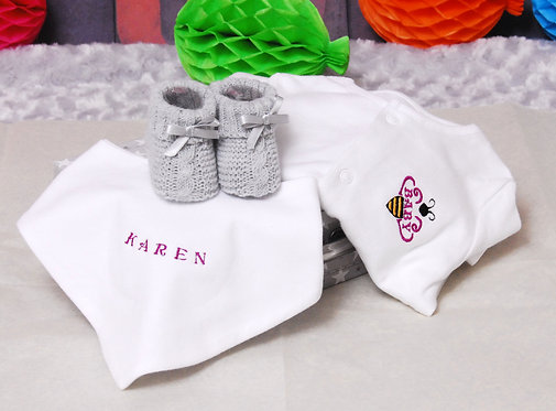 Personalised Small Baby Hamper
