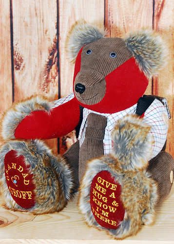 Small Forget Me Not Memory Bear