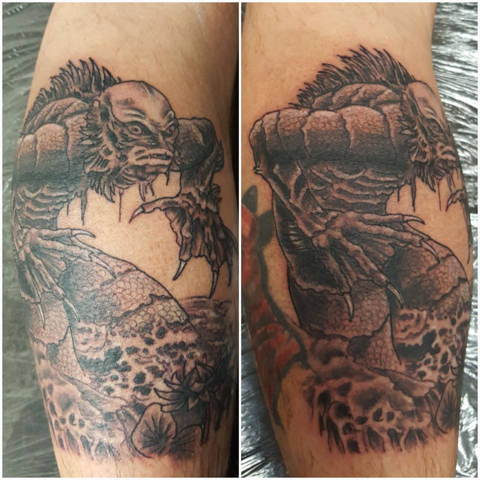 Todd Holley Tattoo Monster