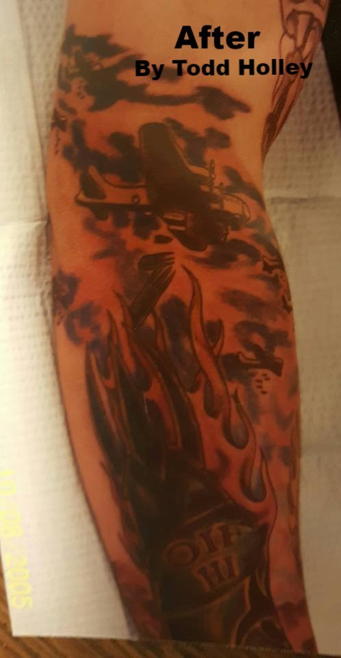 Moscow Idaho Professional Tattoo Artist Cover Up