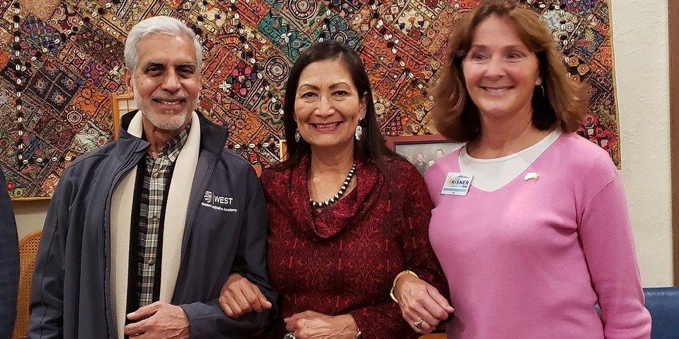 Thank you to everyone that came out to Claudia's Fundraising Celebration with Congresswoman Deb Haaland!