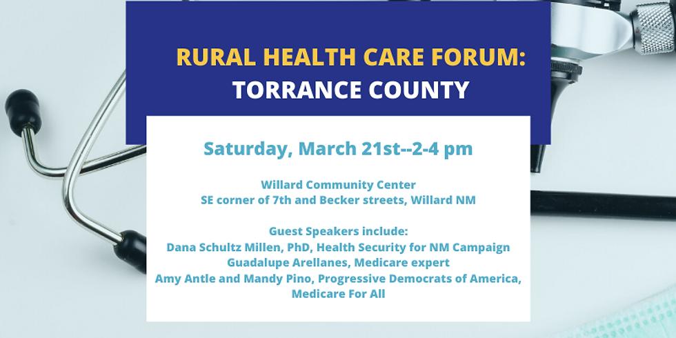 Rural Health Care Forum