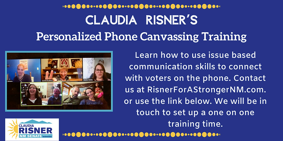 Personalized Virtual Phone Canvassing Training