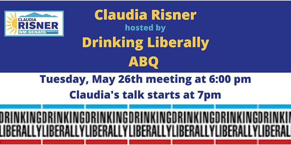 Drinking Liberally Albuquerque hosts Claudia Risner