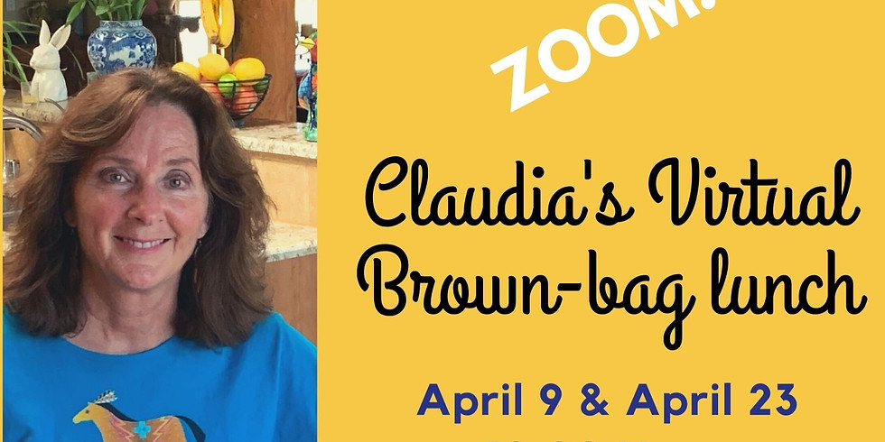 Zoom brown-bag-lunch with Claudia!