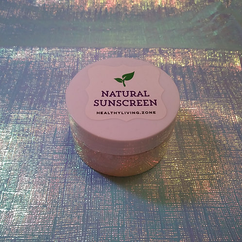 Natural Sunscreen Cream (SPF 30+)