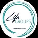 Life Group LogosROUND_Square on white ba