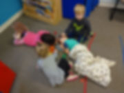 preschool children playing