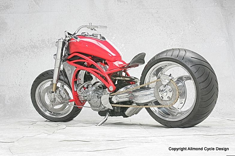 Custom Bike Design Sculpture Metal Sculpture