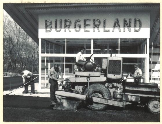 Paving Burgerland
