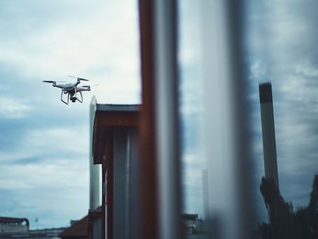 Droneinspektion på bygninger