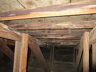 Skimmel i tagrum - utilstrækkelig ventilation