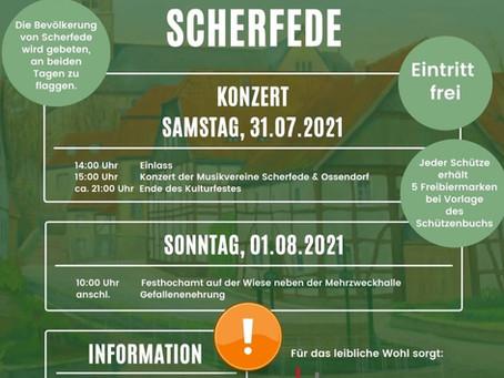 Sommerkonzert Heimatschutzverein Scherfede