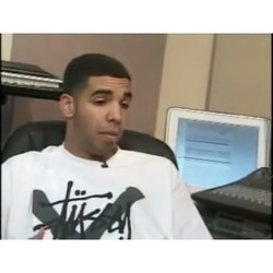 Early interview with Drake in record