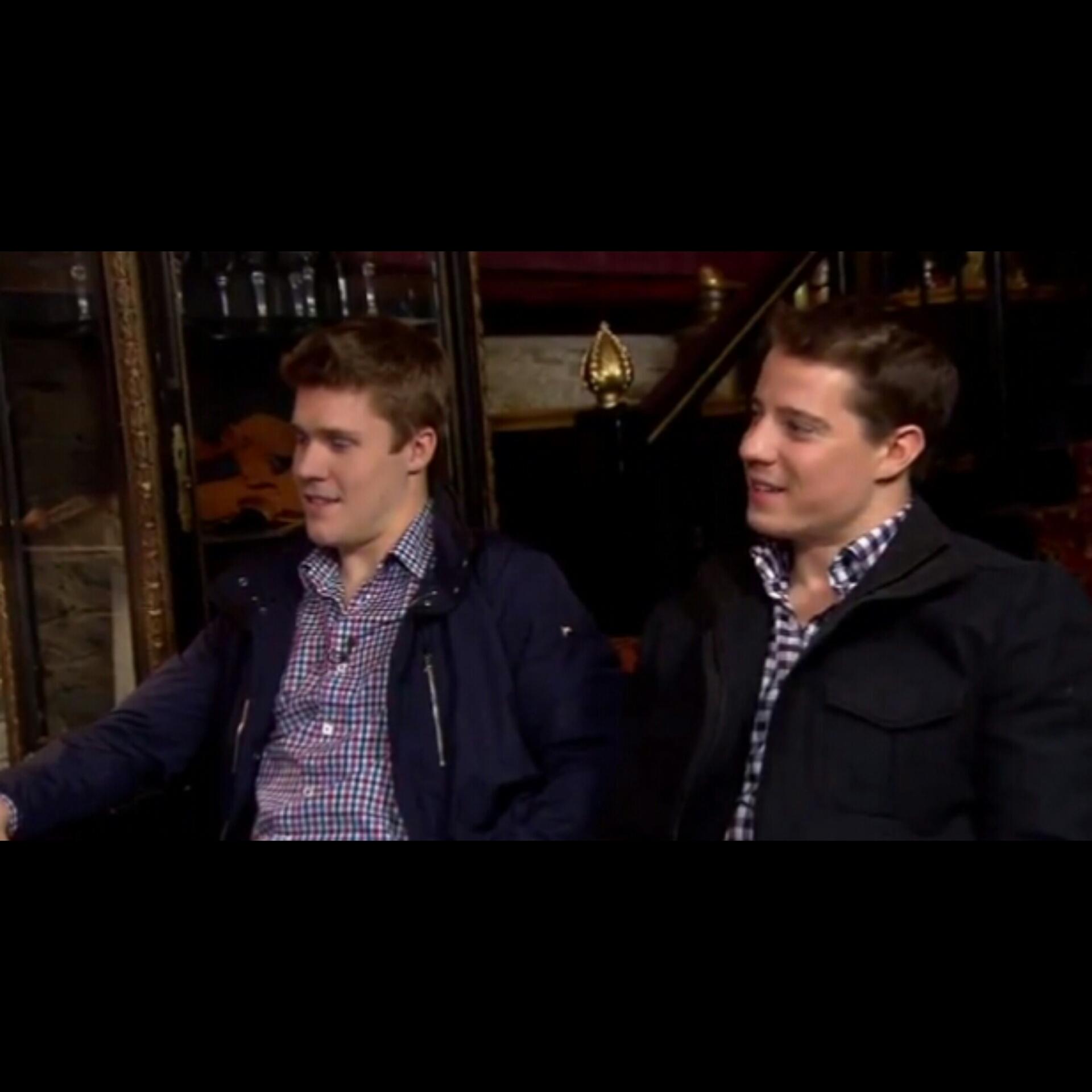 Toronto Maple Leafs-Matt Frattin and Jake Gardiner