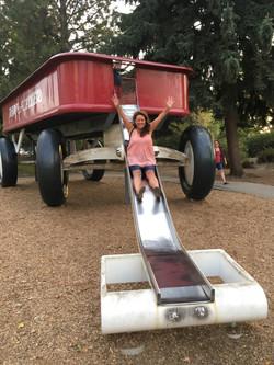 The BIG Red Wagon