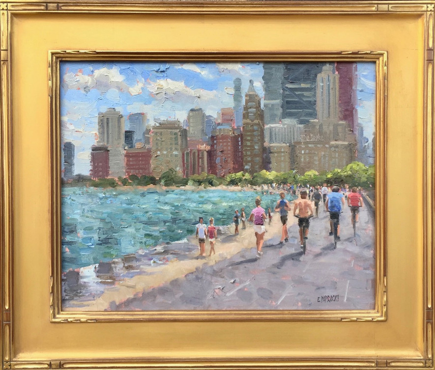 'Summer Day on the Chicago Lakefront'