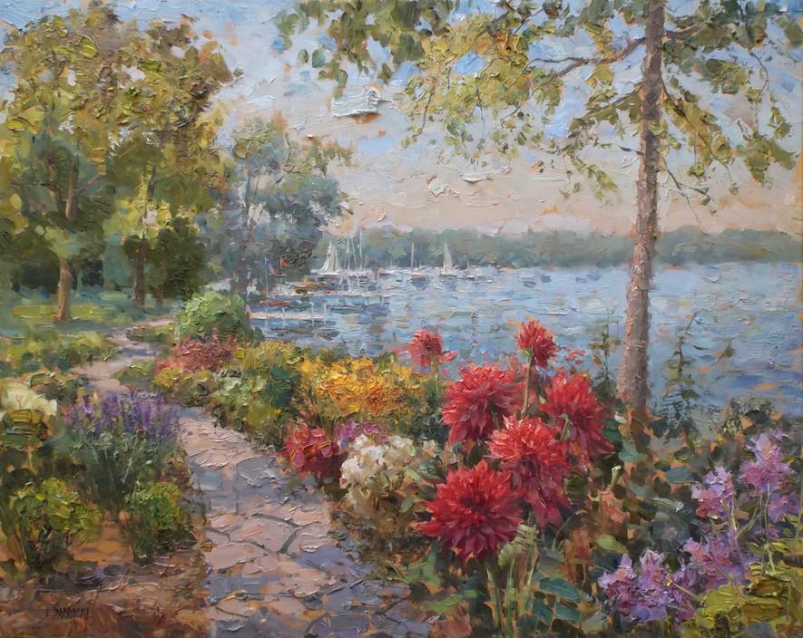 'Shore Path, Lake Geneva'