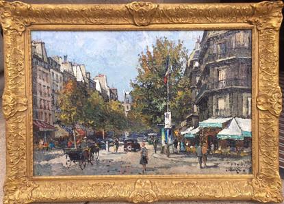 'Boulevard St Germain, Paris'